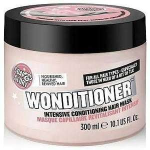 Soap & Glory Wonditioner Conditioning Hair Mask 300ml £4.50 + £3.50 delivery @ Boots