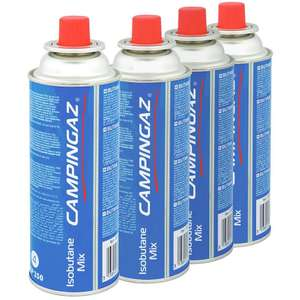 2 x 4 pack CAMPINGAZ CP250 £10 + £3.95 delivery @ GoOutdoors