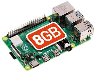 Raspberry Pi 4 Model B 8GB Board - £62.80 with code delivered @ CPC