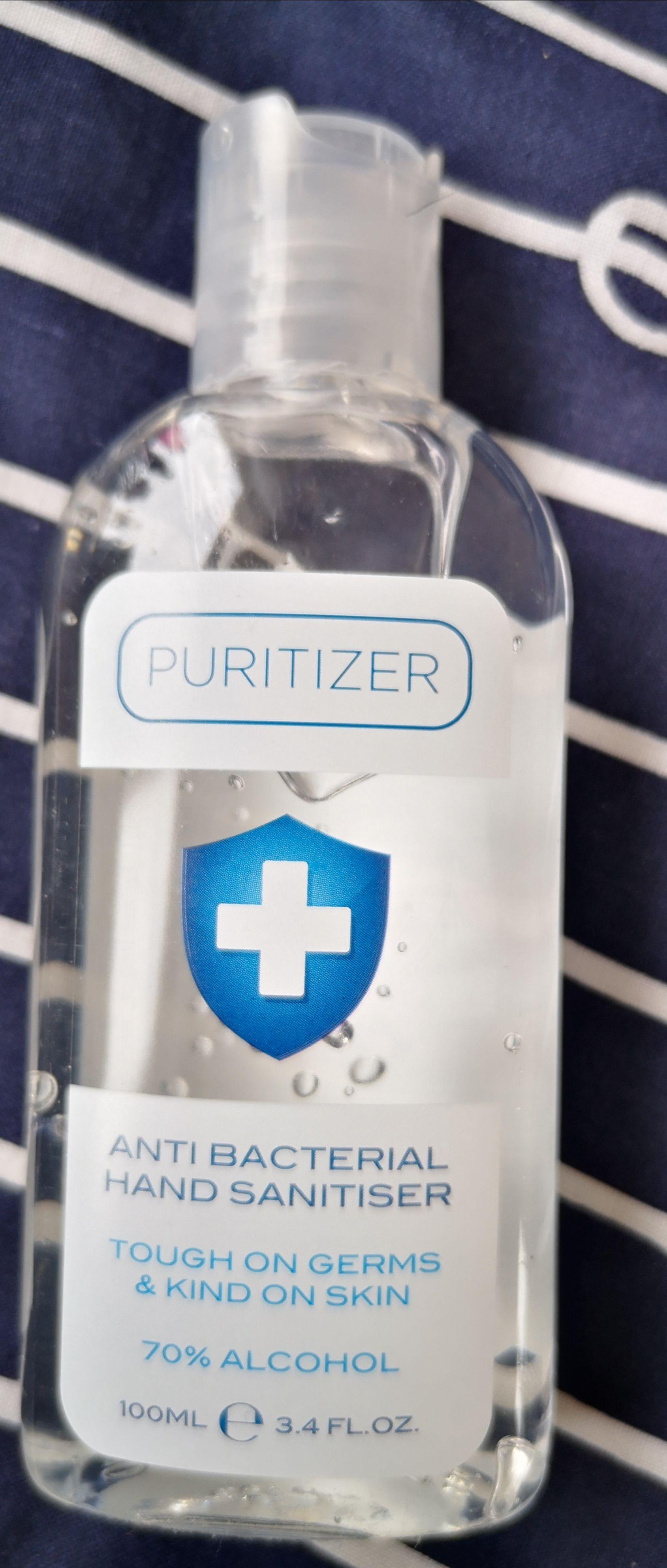 Puritizer Anti Bacterial Hand Sanitiser 100ml - £0.99 @ Aldi (Glasgow)