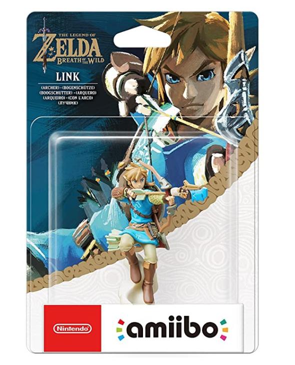 Link (Archer) amiibo - The Legend OF Zelda: Breath of the Wild Collection £12.99 prime / £17.48 non prime @ Amazzon