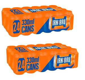 Irn Bru - 2 x for £12 at Farmfoods, 48 cans in total works 25p each can (Instore - Milton)