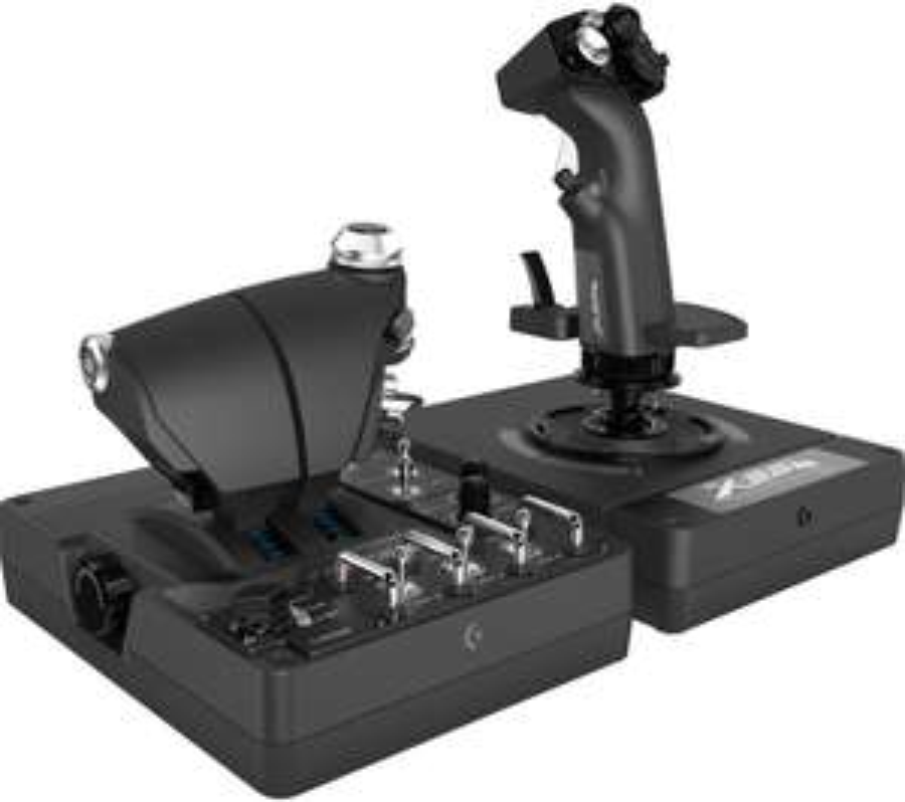 SAITEK Pro Flight X56 Rhino Joystick & Throttle - Black £215 at Currys PC World c&c only
