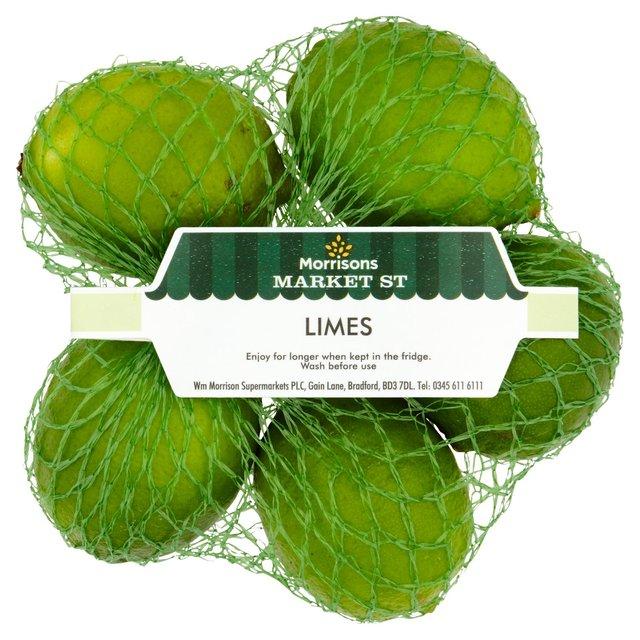 Morrisons Bumper Limes / Lemons 5 pack 59p @ Morrisons