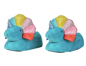 Imagination Station Rainbow Dinosaur Slippers £1.50 click and collect at Argos