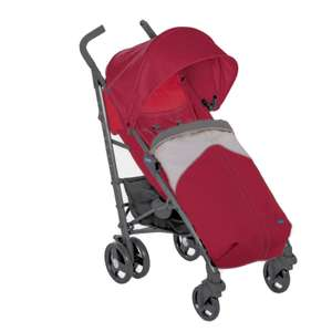 Chicco Liteway3 Pushchair - Red Berry with Free Rain Cover and Footmuff £66.95 with Free Delivery From Online4baby