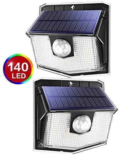 140 LED Solar Lights Outdoor, Mpow Motion Sensor Security Light 3 Modes £16.14 (Prime) + £4.49 (non Prime) Sold by Litjoy via Amazon.
