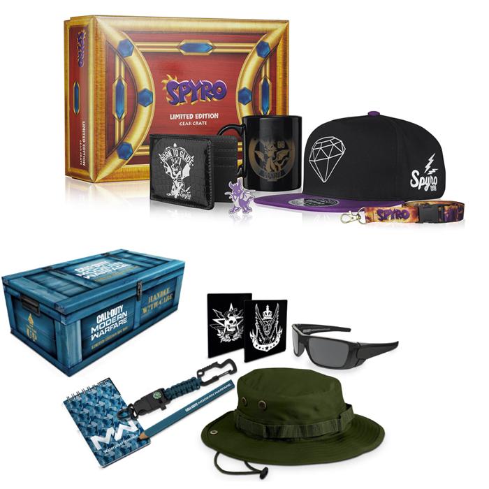 Spyro the Dragon Collectable Big Box OR Call of Duty Modern Warfare Collectable Big Box - £11.88 Delivered Using Code @ Zavvi