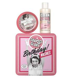 Soap & Glory Birthday Wishes Body Gift Set £2 Using Code Boots Shop - Also 3 for 2, £1.50 c&c / £3.50 delivery under £30