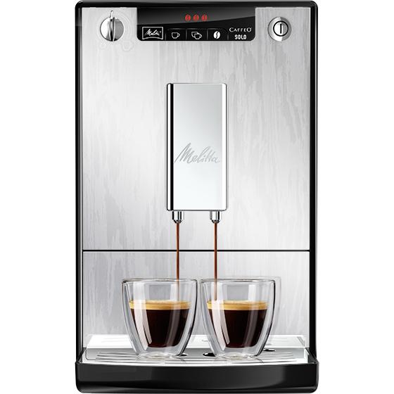 Melitta Caffeo Solo Fully Automatic Coffee Machine (Organic Silver) £250 at Melitta Store