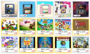 15 new Themes & Discount Rewards added for Nintendo 3DS / 2DS @ My Nintendo