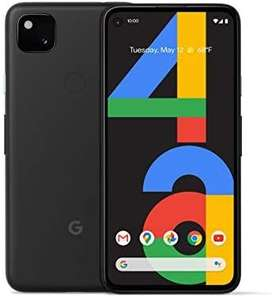 Google Pixel 4a 128GB Smartphone -££340/£330 Paying In Dollars Using A Fee Free Card @ Amazon US