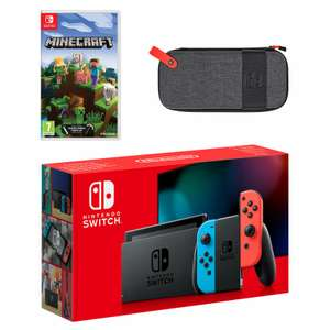 Nintendo Switch (Neon Blue/Neon Red) Minecraft Pack £304.99 at Nintendo Official UK Store