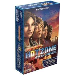 Pandemic Hot Zone: North America £15.68 delivered at Zatu