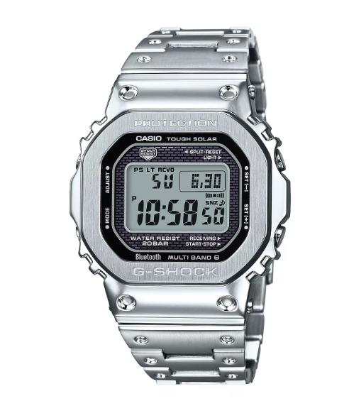 Casio G-Shock Men's Stainless Steel Bracelet Watch £360 @ H samuel