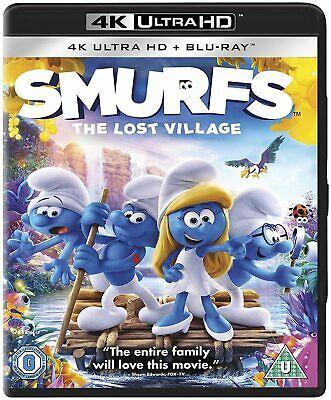 Smurfs : The Lost Village : 4k Ultra Hd Bluray - £5.99 @ mediasellersuk / ebay