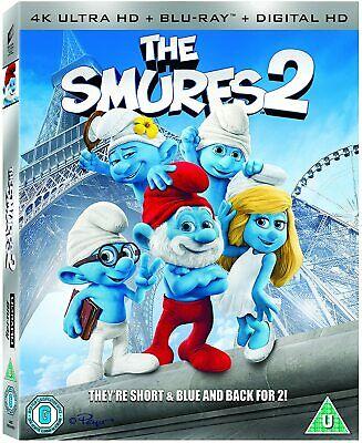 The Smurfs 2 4K ULTRA HD Blu-ray + Slip Cover - £3.99 @ sellersmediastore / ebay