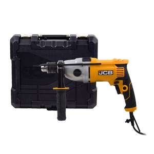 JCB Impact Drill 2-Speed 1050W with Carry Case & 5 years guarantee - £35 with code (B&Q member signup) @ B&Q (free click and collect)
