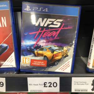 NFS Heat instore at Tesco for £20