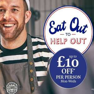 Buy 1 Get 1 Free + extra 50% off ALL food @ Pizza Express with Tastecard