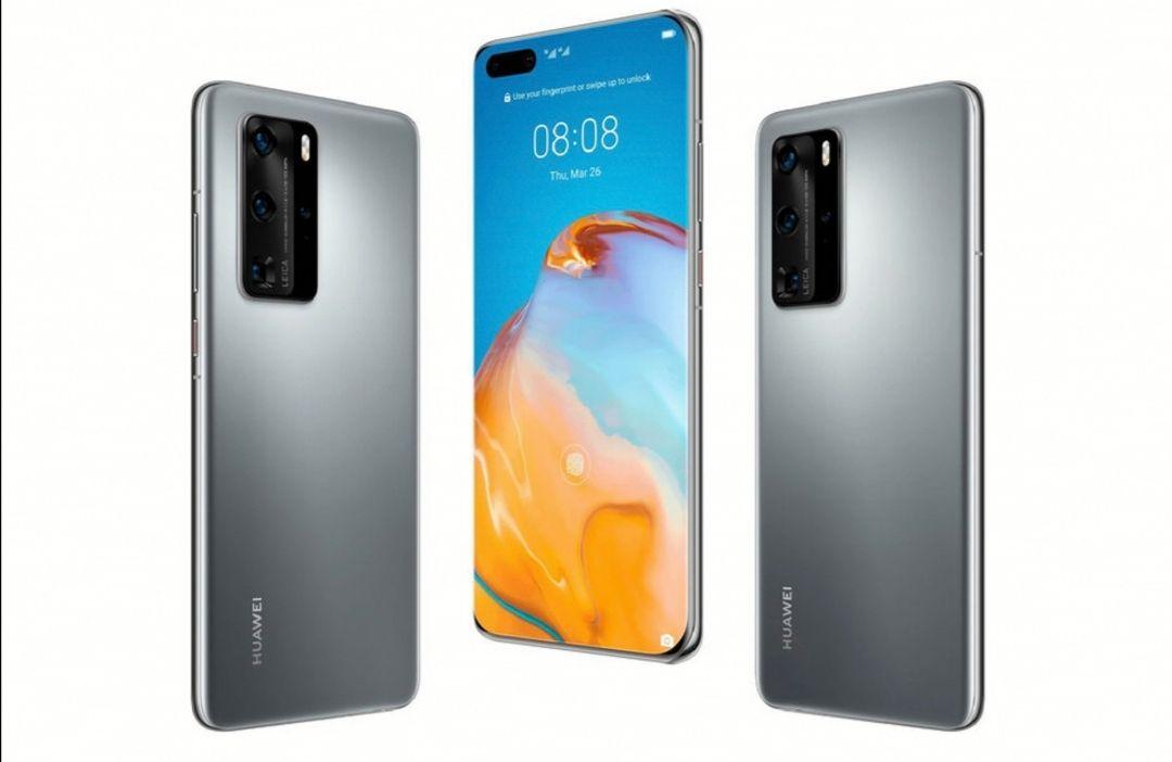 Huawei P40 5G 128GB 6GB RAM Dual SIM 3800mAh Kirin 990 Silver Frost Smartphone - £403 @ Wowcamera
