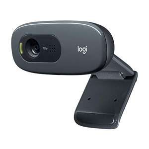 Logitech C270 HD Webcam, HD 720p/30fps, Widescreen HD Video Calling, HD Light Correction, Noise-Reducing Mic, - £24.99 @ Amazon
