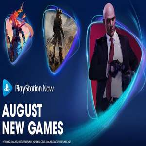PlayStation Now (August 2020) - Hitman 2, Dead Cells, Greedfall