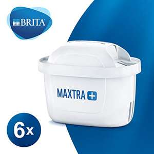 BRITA MAXTRA+ Water Filter Cartridges pack of 6 - £15.95 (Prime) / £20.44 (non Prime) at Amazon
