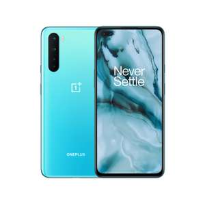 "OnePlus Nord Smartphone, 8GB RAM, 6.44"", 5G LTE, SIM Free, 128GB, Blue Marble/Grey Onyx £379 at John Lewis & Partners + 2 year guarantee"