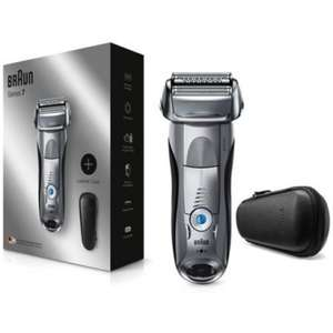 Braun Series 7 Electric Wet & Dry Shaver for Men 7893PS, with Travel Case - £70 or Braun Series 5 5147PS - £50 delivered @ Boots
