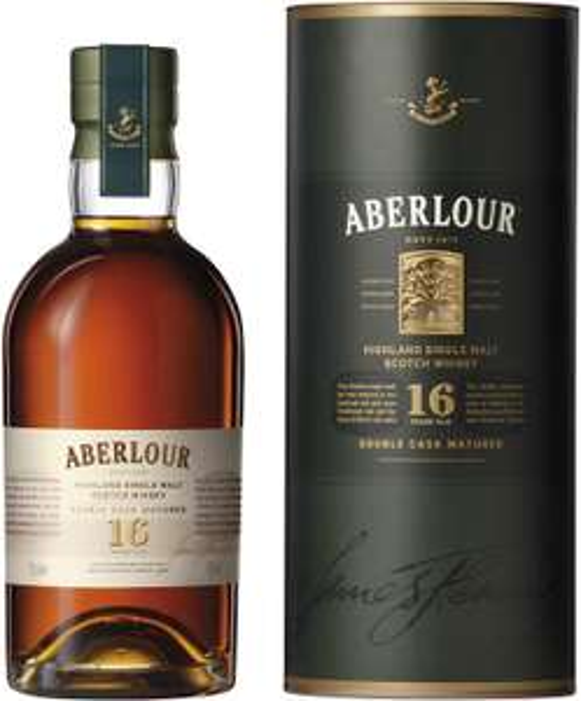 Aberlour 16 y/o whisky £44.57 Amazon Prime Now / Amazon Fresh (London)