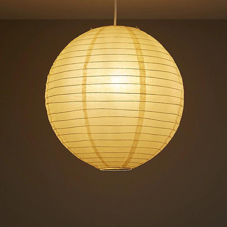 Colours Abiola Apricot Ball Light shade (D)400mm 50p c&c @ B&Q