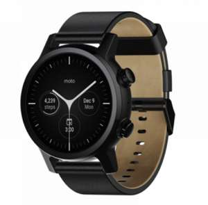 Moto 360 smart watch choice of 3 colours £199.99 @ moto store