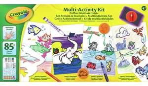 Crayola Deluxe Activity Kit £7.49 click and collect at Argos