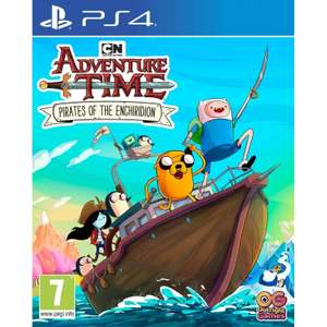 Adventure Time: Pirates of the Enchiridion With Free Stickers - Playstation 4 & Xbox One- £8.95 delivered @ The Game Collection