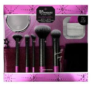Real Techniques Glitz & Glam Gift Set £22 @ Boots Free click and collect