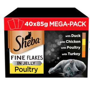 Huge 40 pack Sheba fine flakes was £12 now £6 at Wilko Leeds Trinity