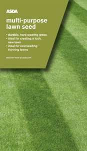 Asda Multi-purpose lawn seed 89p instore at Asda Fenton, Stoke-on-Trent