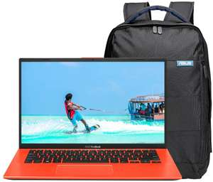 ASUS VivoBook A412FA 14 inch Full HD Laptop, Includes ASUS Backpack - £329.99 @ Amazon