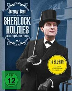 Sherlock Holmes - Jeremy Brett. The Complete ITV Series Collection Blu-Ray - £31.36 Delivered @ Amazon Germany
