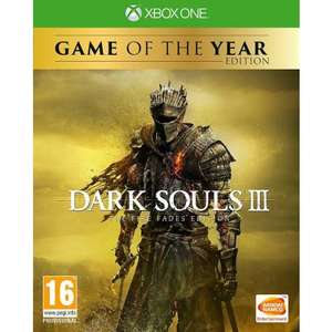 Dark Souls 3 The Fire Fades : Game of the Year Edition (Xbox One) - £16.95 Delivered @ The Game Collection