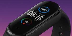 Xiaomi Mi Band 5 Smart Fitness Tracker Bluetooth Waterproof - £18.90 For New Users With Code / Less If Paying In $ @ RTDC Store Aliexpress