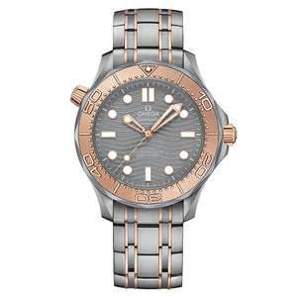 OMEGA Seamaster Diver 300M Co-Axial Master Chronometer Limited Edition Titanium Tantalum & Sedna™ Gold 42mm £7,544 at Beaverbrooks