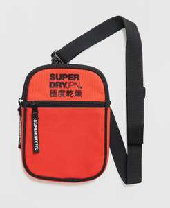 Superdry Sport Pouch Bag Now £8.50 + Free delivery @ Superdry