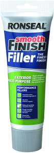Ronseal Smooth Finish Filler Exterior Multi Purpose Tube 330g - £7.26 Prime / +£4.49 non Prime @ Amazon