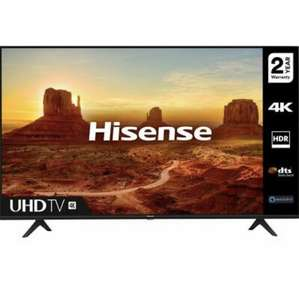 "HISENSE 43A7100FTUK 43"" Smart 4K Ultra HD HDR LED TV with Amazon Alexa £284.05 Currys ebay"