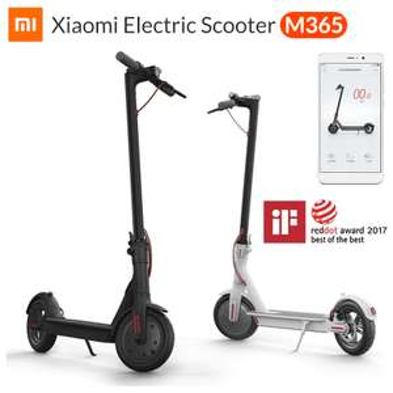 Xiaomi Mi Electric Scooter Mijia M365 Smart E Scooter (EU Shipping) - £283.37 @ AliExpress / MC-TECH Store