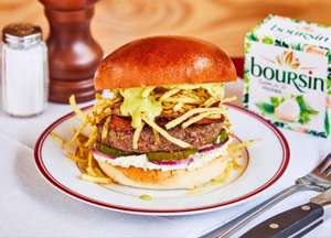 Honest Burger - Steak Frites Special burger - £4.25 with Eat Out Help Out