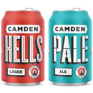 3 Camden craft beer cans for £5 at LEON to drink in or takeaway