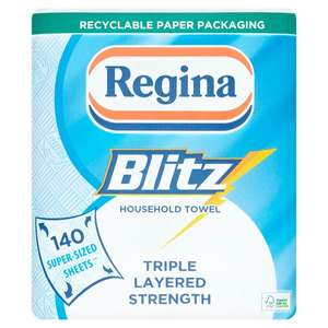 Regina Blitz All Purpose Kitchen Towel 2 Pack £2 @ Morrisons